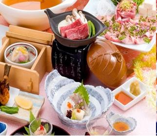 茨城県産にこだわった創作和食料理イメージ